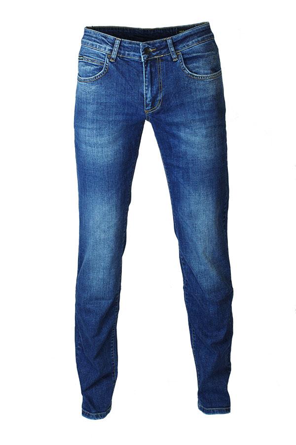 6ceda3ff593 Мужские узкие джинсы D-7008 стрейч в брендовом магазине Эталонджинс.