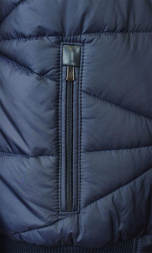 9301794ad84e Мужская комбинированная куртка Santoryo 4221 синего цвета. Цена 8900 ...