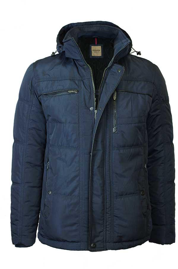 9d7c7934d10a Мужская зимняя куртка SANTORYO 7570 синего цвета в фирменном ...