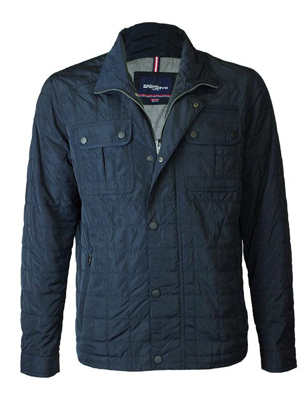 Мужская демисезоннаяя куртка SANTORYO 8311 синего цвета в фирменном ... ea498311654eb